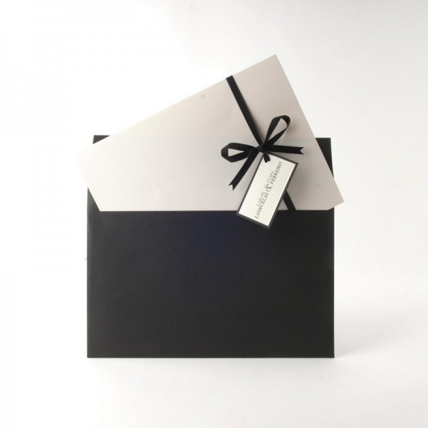 Invitación de Boda original lazo y etiqueta