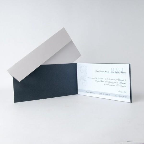 Invitación de Boda rectangular